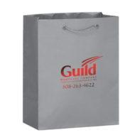 Promotional Custom Logo Matte Laminated Euro Tote Bag 8x10
