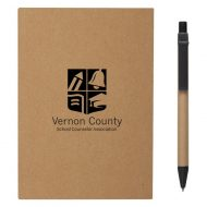 Promotional Custom Logo Meeting Mate Notebook With Pen And Sticky Flags