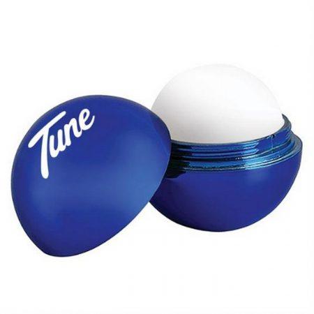 Promotional Custom Metallic Lip Balm Moisturizer Ball