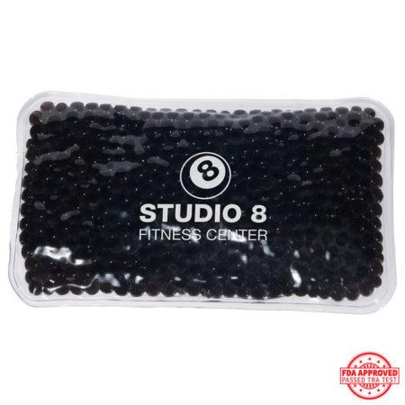 Promotional Custom Logo Mini Rectangle Hot/Cold Pack Aqua Pearls
