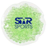 Promotional Custom Logo Mini Round Hot/Cold Pack Aqua Pearls