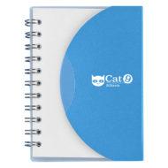 Mini-Spiral-Notebook-Blue-Custom Logo