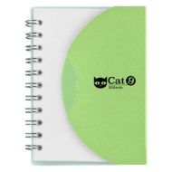Mini-Spiral-Notebook-Lime Green