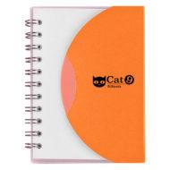 Mini-Spiral-Notebook-Orange-Custom Logo