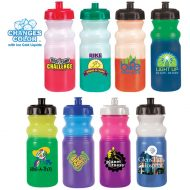 Promotional Custom Mood Color Change Cycle Water Bottle 20oz - Full Color