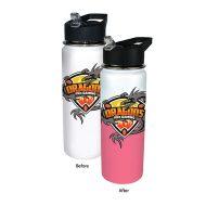 Promotional Custom Mood Color Change Stainless Steel Water Bottle 26oz - Full Color