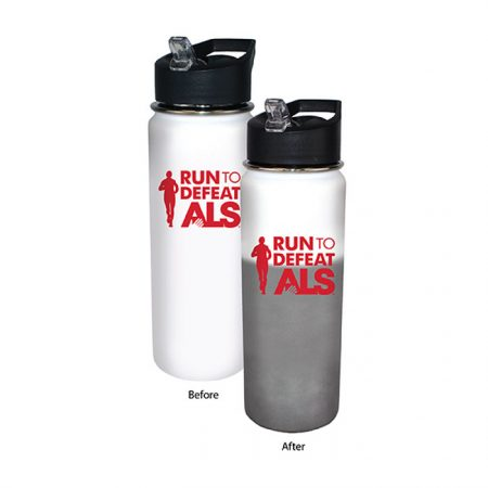Promotional Custom Mood Color Change Stainless Steel Water Bottle 26oz