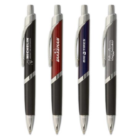 Promotional Products - Logo Pens - Promo Pens - Imprinted Metal Pens - Nautica Chrome Pen