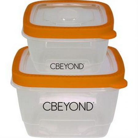 Promotional Custom Logo Nesting Seal Tight Lunch Containers