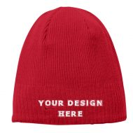 Custom Embroidery New Era Knit Beanie Hat