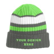 Custom Embroidery New Era® Ribbed Tailgate Beanie