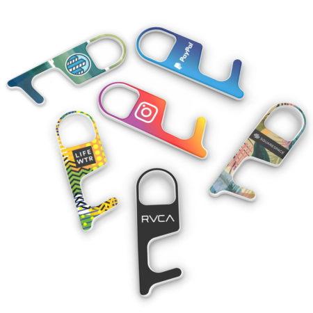 Promotional Custom Logo No-Touch Door Opener Keypad Tool