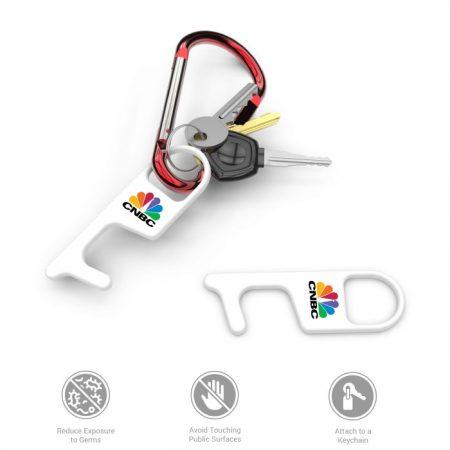 Custom Branded No Touch Door Opener Tool with Logo