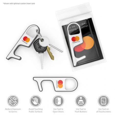 No Touch Door Opener Tool with Logo