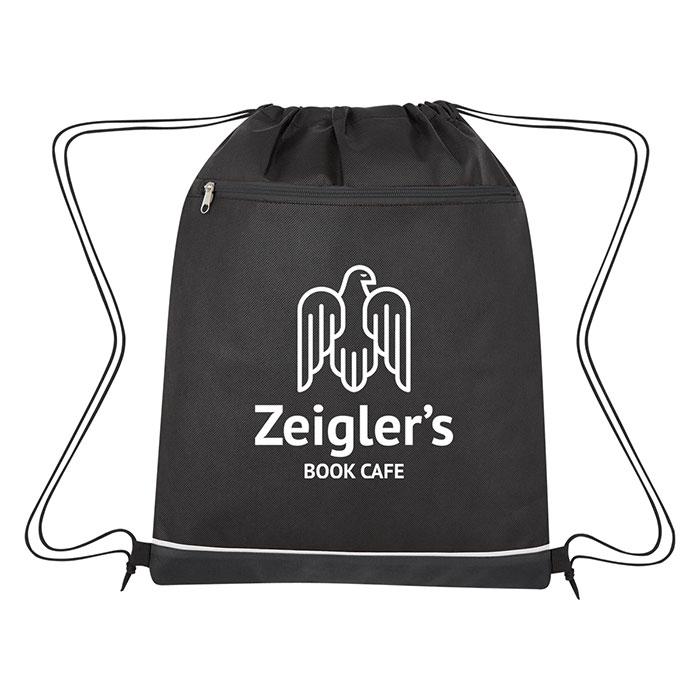 b2cb191dcaf4 Non-Woven Bandura Sports Drawstring Bag - Progress Promotional Products