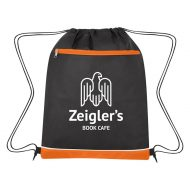 Custom Logo Promotional Non-Woven Bandura Sports Drawstring Bag