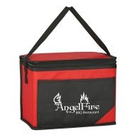 Custom Logo Promotional Non-Woven Chow Time Lunch Cooler Bag