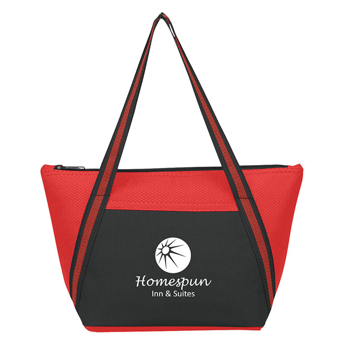 fece36934 Non-Woven Lunch Cooler Tote Bag - Progress Promotional Products