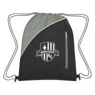 Custom Logo Promotional Non-Woven Peyton Sports Drawstring Bag