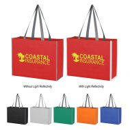 Promotional Reflective Edge Tote Bag