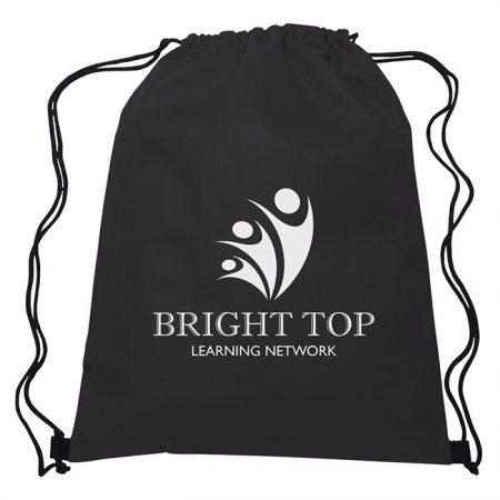 Custom Logo Promotional Non-Woven Sports Drawstring Bag