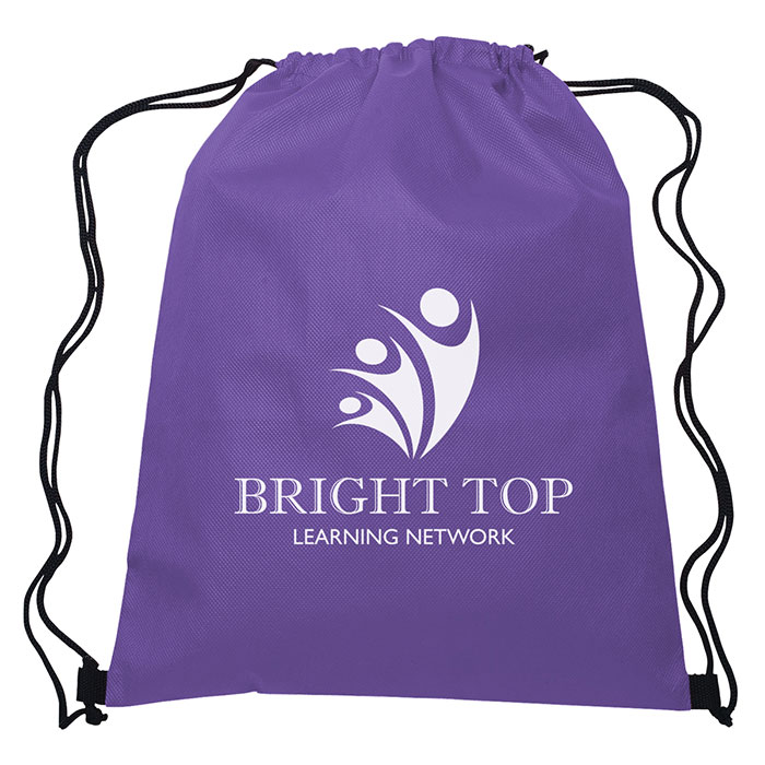 21213c5f17 Non-Woven Sports Drawstring Bag - Progress Promotional Products