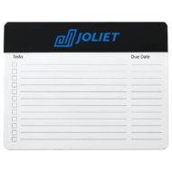 Note Paper Mouse Pad - 12 Sheets-Black Custom Logo