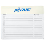 Note Paper Mouse Pad - 12 Sheets-White Logo