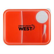 Promotional Custom Logo On The Go Lunch Container