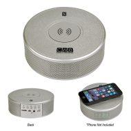 Customizable Orbit Alarm Clock Speaker & Wireless Charger