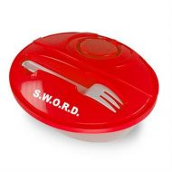 Promotional Custom Logo Oval Lunch To-Go Container