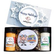 Custom Branded Popcorn Set with Seasonings