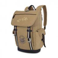 Custom imprinted-Heritage Supply Ridge Cotton Computer Backpack