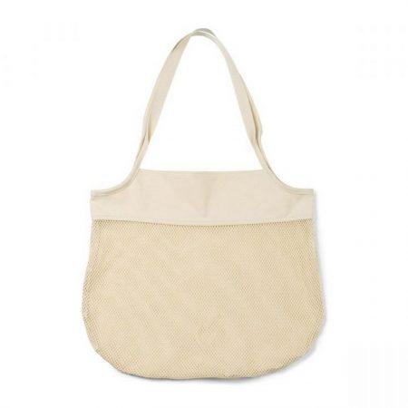 Promotional Custom Logo Parisian Cotton Market Bag