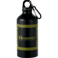 Promotional Products - Imprinted Water Bottles - Custom Promotional Items - Carabiner Bottle - Sport Bottle - Phoenix Aluminum Water Bottle 17oz