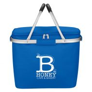 Custom Logo Promotional Picnic Fun Collapsible Cooler Basket