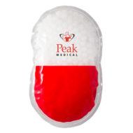 Promotional Custom Logo Pill Capsule Hot/Cold Pack Aqua Pearls
