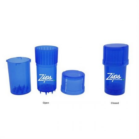 Promotional Custom Logo Plastic Grinder + Storage Container