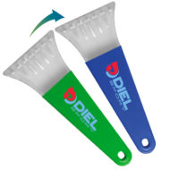 Promotional Color Change Ice Scraper with Logo Imprint