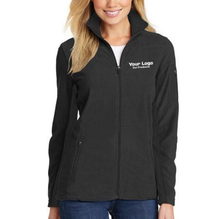 Custom Embroidery Port Authority® Ladies Summit Fleece Full-Zip Jacket - Embroidery