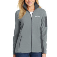 Custom Embroidery Port Authority® Ladies Summit Fleece Full-Zip Jacket - Embroidery