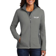 Custom Embroidery Port Authority Colorblock Value Fleece Ladies Jacket with Logo