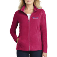 Custom Logo Embroidery Port Authority Ladies Microfleece Jacket