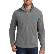 Custom Logo Port Authority Microfleece Half-Zip Mens Pullover Embroidery