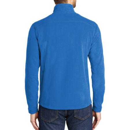Custom Logo Embroidery Port Authority Mens Microfleece Jacket