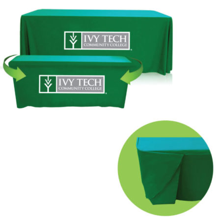Promotional Logo Convertible Table Throw Cover Cloth