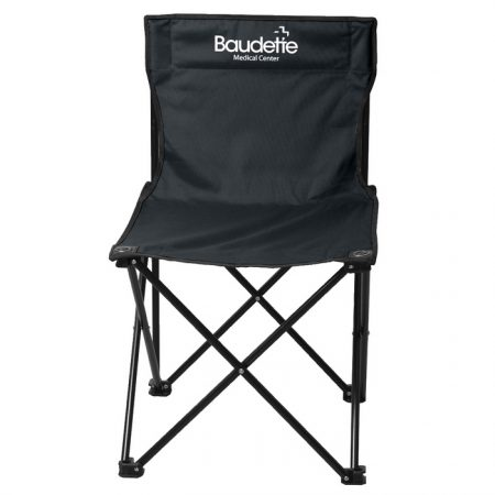 Promotional Custom Logo Price Buster Folding Chair With Carrying Bag