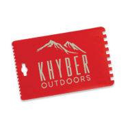 Cheap Promotional Ice Scraper Credit Card Size with Logo Imprint