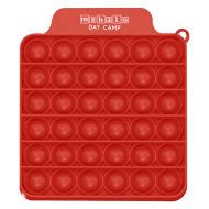 Push Pop Square Fidget Game with Logo