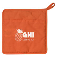 Quilted Cotton Canvas Pot Holder Custom Logo